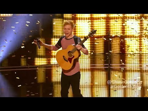 The Next Ed Sheeran  ALL Performances The Best Singer Americas Got Talent 2017