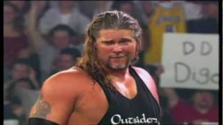 "The Outsiders (Scott Hall and Kevin Nash) 1999 WCW Titantron - ""Wolfpac"""