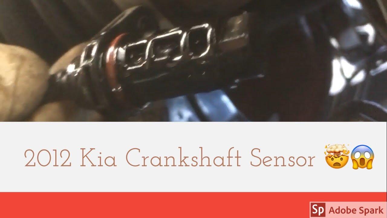 2012 Kia Forte Crank Shaft Sensor Youtube