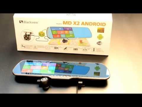 ANDROID зеркало со встроенным регистратором Blackview MD X2ANDROID