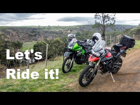 Kawasaki KLR 650 Around Australia  - Let's Ride In Tasmania (Ep 4)
