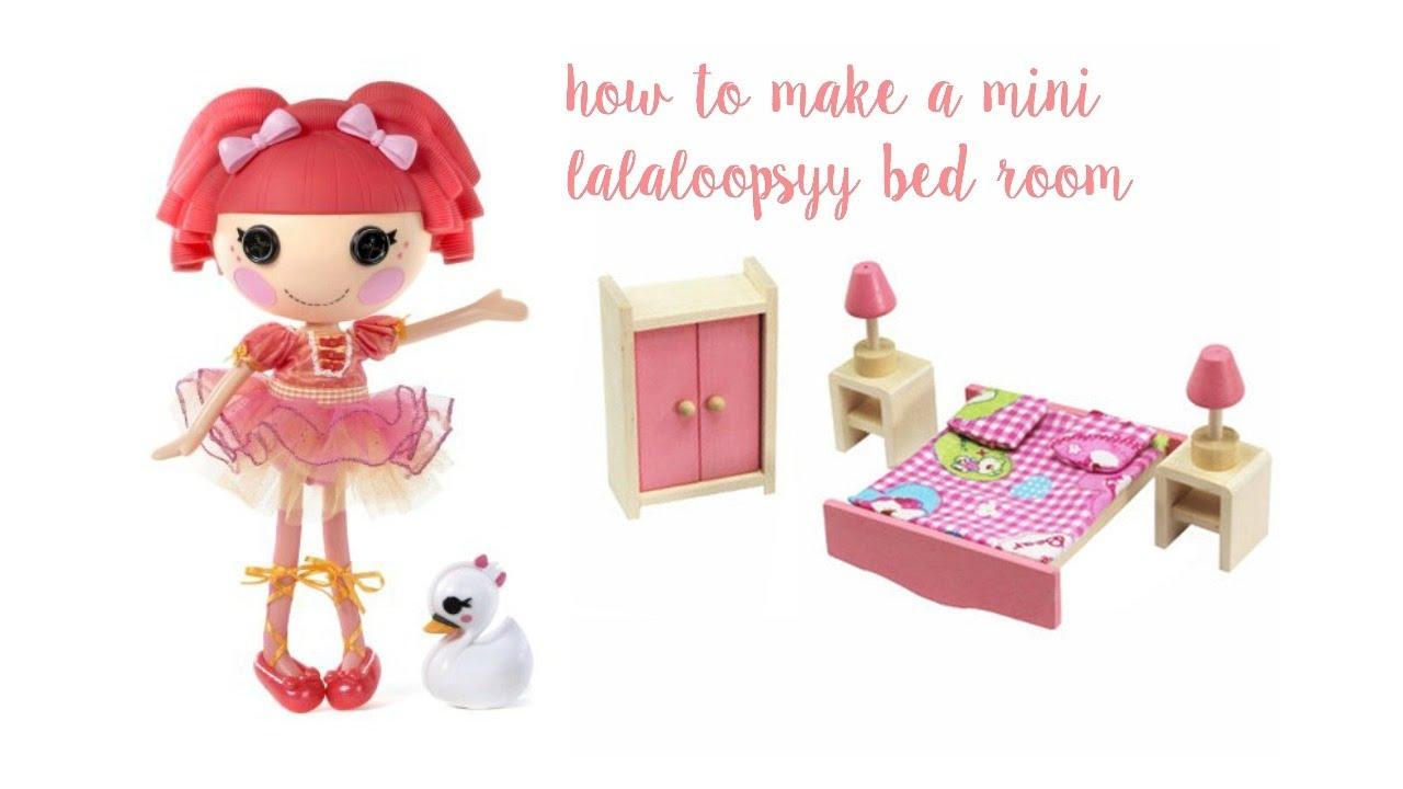 Lalaloopsy Bedroom How To Make A Mini Lalaloopsy Bedroom Lalaloopsylover2005 Youtube