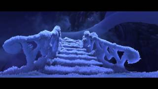 Disney's Frozen  Let It Go  ELSA Building ice castle
