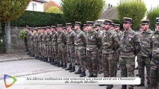 Gendarmerie - Hommage au parrain  376ème promotion.