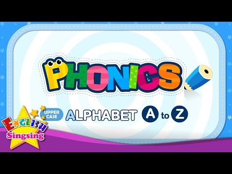 Phonics Alphabet - Letter A to Z - Upper Case (Capital letter) | Learn English for kids