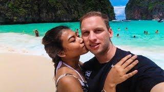 AMAZING Thailand Phi Phi Island Adventure   Phuket, Ko Phi Phi, Maya Bay!!