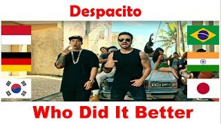 Who Did It Better | Despacito | Korea,India,Germany,Japan,Brazil,Indonesia | Dance EP 05