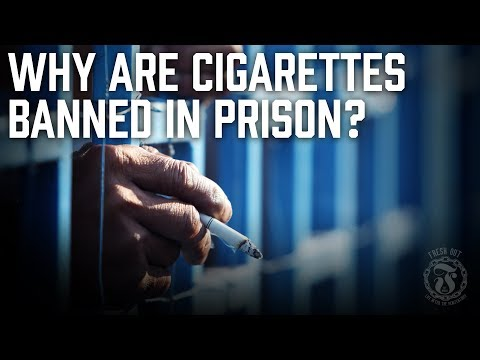 Why are Cigarettes BANNED in Prison? - Did it create more TENSION? - Prison Talk 11.4