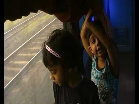 Bangalore to Mumbai Coimbatore express-with Grandchildren