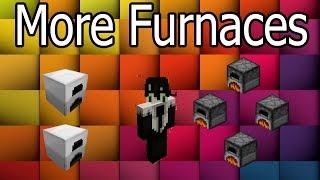 МОЩНЫЕ ПЕЧКИ | Minecraft mods