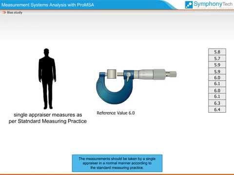 Measurement Systems Analysis - Bias Study