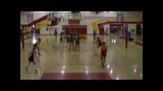 La Serna Girls Volleyball vs La Mirada High School 9-10-09