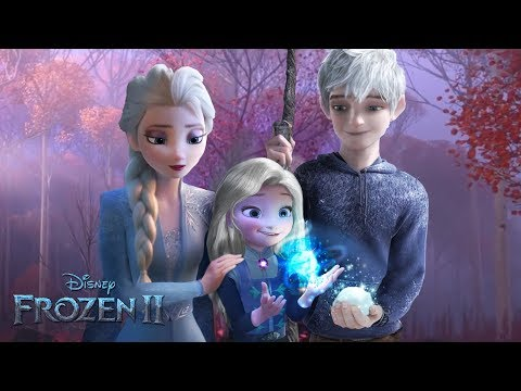 Frozen 2: Elsa and Jack Frost have a daughter! And she has magic too! ❄💙Alice Edit!