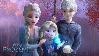 2 dondurulmuş Elsa ve Jack Frost bir kızım var. Ve de büyü var! ❄ Alice Düzen!