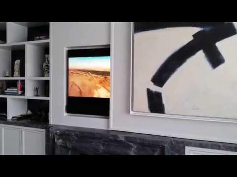 Interior integrated TV Installation