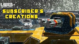 Space Engineers - Subscriber Building Challenge Submissions, A Creation With A Purpose
