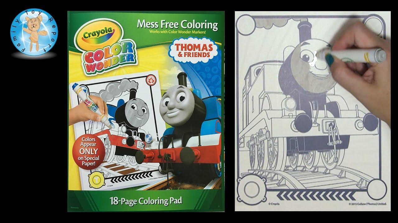 Crayola Color Wonder Thomas Amp Friends Thomas The Train