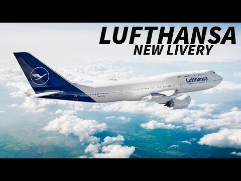 NEW LUFTHANSA LIVERY REVEALED