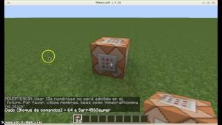 como sacar el bloque de comandos en minecraft 1.7.2 1.7.4 1.7.5 1.7.9 1.7.10