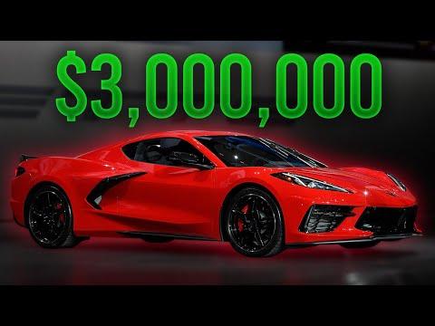 2020 Corvette C8 Sells For $3,000,000!! Barrett-Jackson Auction