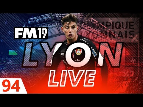 Football Manager 2019 | Lyon Live #94: Injury Crisis #FM19