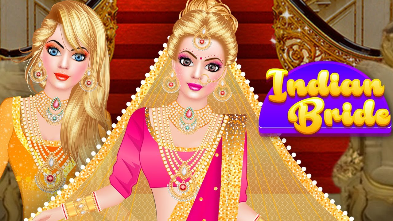 indian doll - bridal fashion : free android & ios game