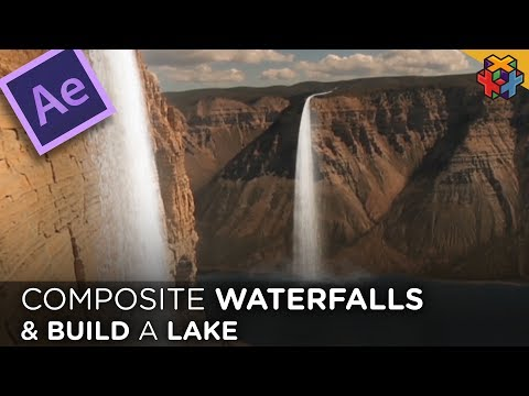 Composite Waterfalls and Build a Lake in AE