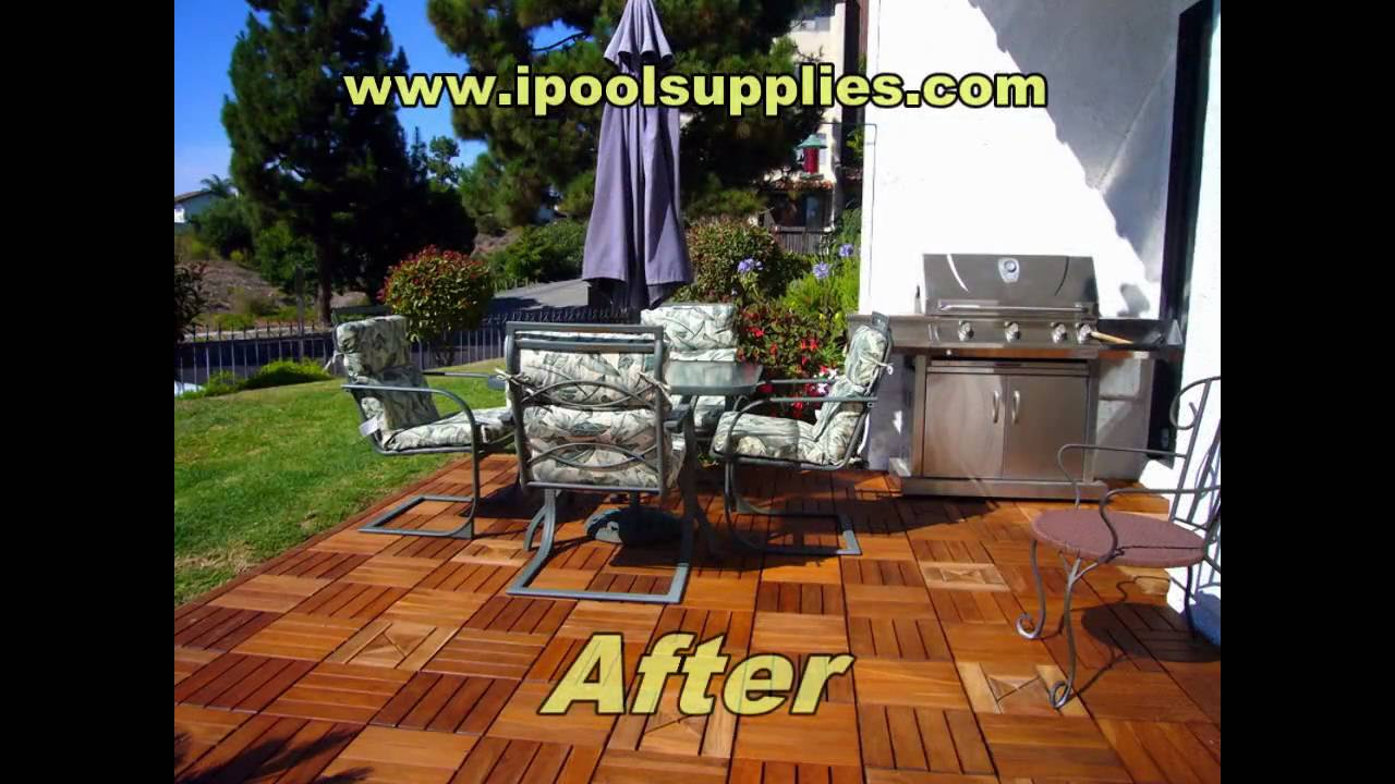 Superb Wood Decking And Wood Plastic Composite WPC Patio Decks And Pool Decks