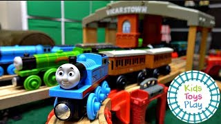 Thomas Train Vicarstown Track Build By Kids Toys Play