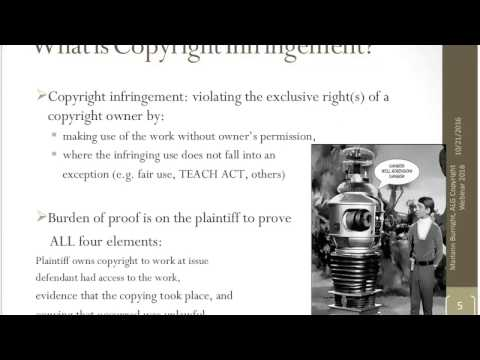 Copyright, Fair Use, and the Public Domain