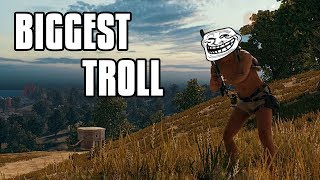 BIGGEST TROLL IN PUBG | FUNNY VOICE CHAT
