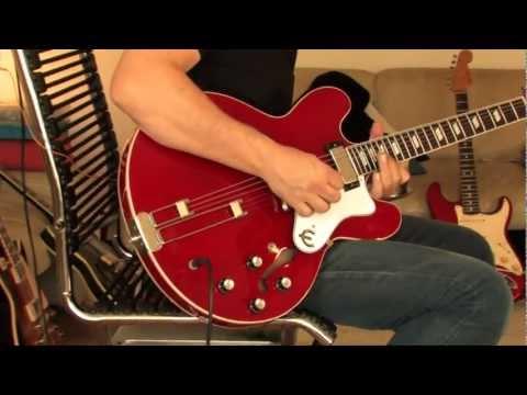 "1993 Gibson / Epiphone ""Riviera"" LTD Edition Part2 (clean)"