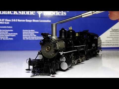 Blackstone HOn3 k-27 review