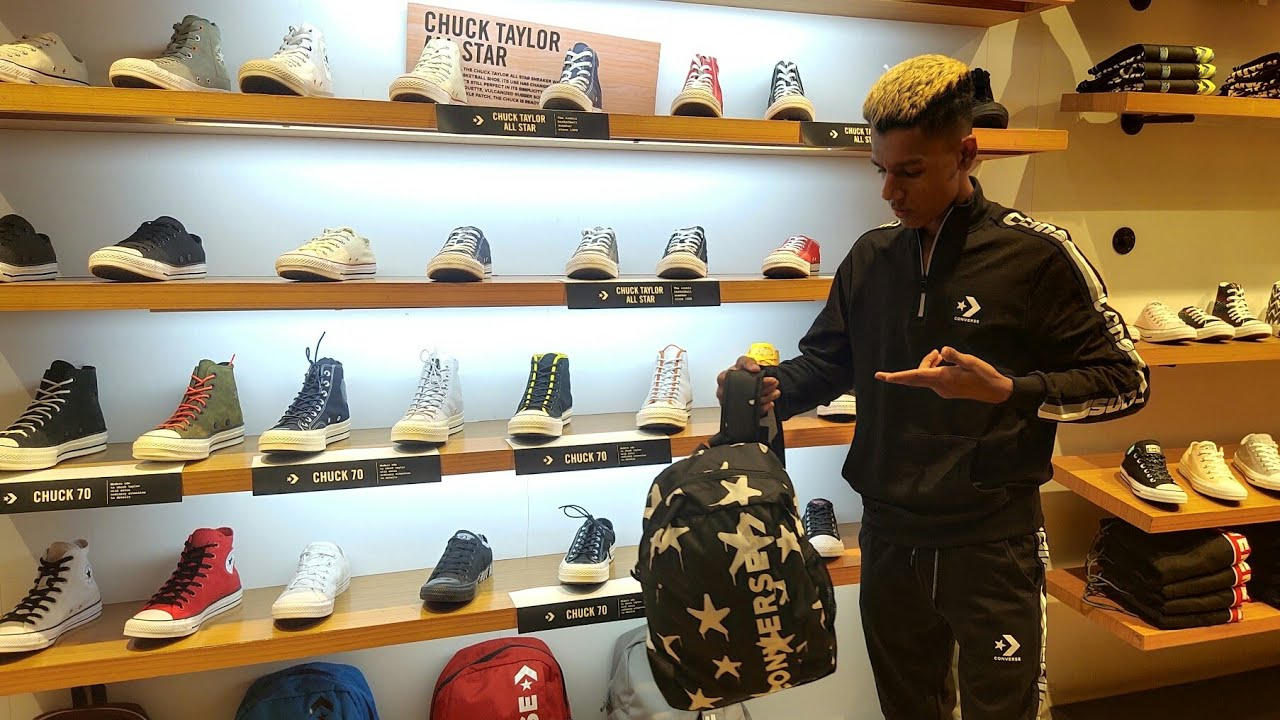 [VIDEO] - Attire For Mens And Womens | Converse Store ( Winter Collections )| TheGujjuBoy 5