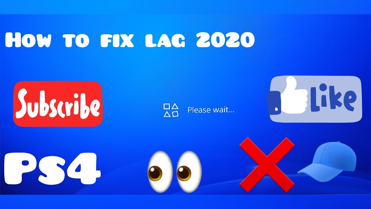 How To Fix Lag On Ps4 2020 Fps Lag Tutorial How To Fix Lag Tutorial Fps Lag Ps4 Youtube