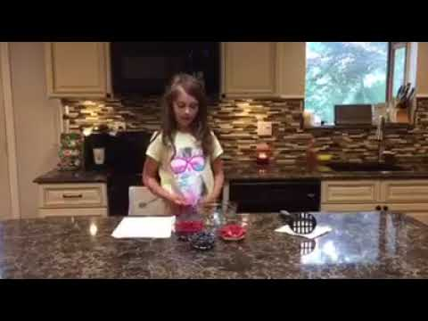 Julia's Amazing Cooking Episode 2: Strawberry, Raspberry, Blueberry Salsa