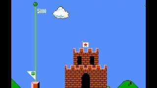 Super Mario Bros - First World 1-1 To 1-4 - User video