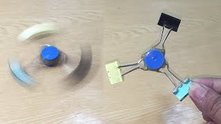 How to Make Spinner Toy for Kids Using Binder Clips DIY at Home
