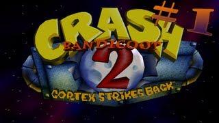 Crash Bandicoot 2: Cortex Strikes Back - Playthrough Pt.1 || Warp Rooms