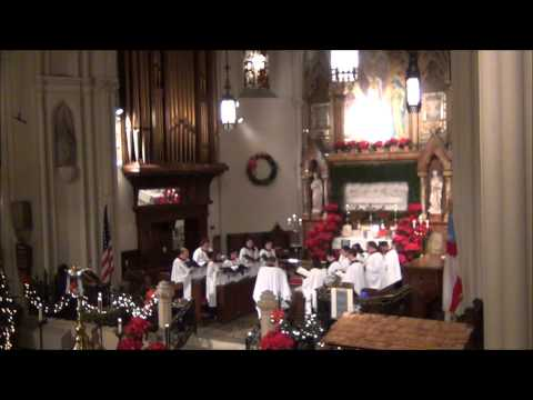 The Carol Prelude on Christmas Eve 2013 @ St. John's Detroit