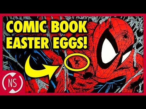 7 SECRETS Artists Hid in COMIC BOOKS!    Comic Misconceptions    NerdSync