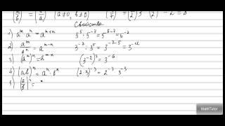 Алгебра 7-9 классы. 15. Степень с целым показателем. Примеры решения упражнений