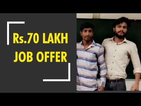 Delhi electrician's son bags ₹70 lakh job offer from US Firm