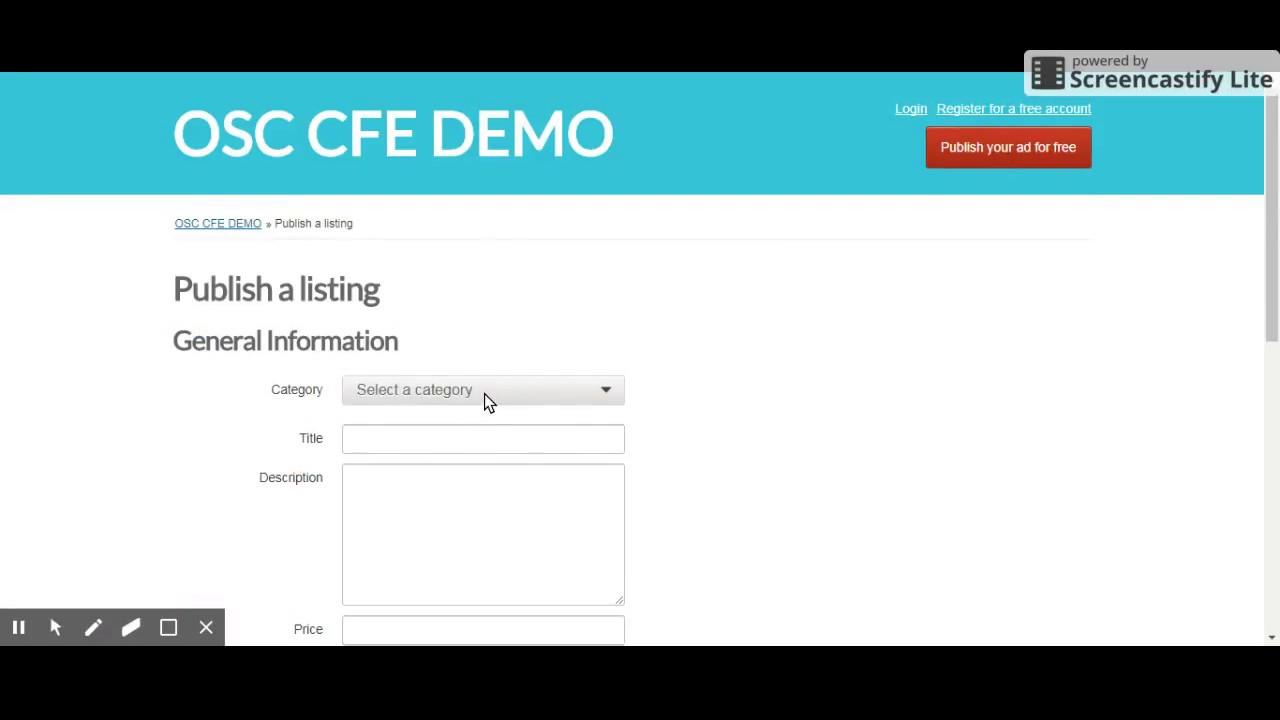 Custom Field Enhancer - Market - Osclass, the free classifieds script