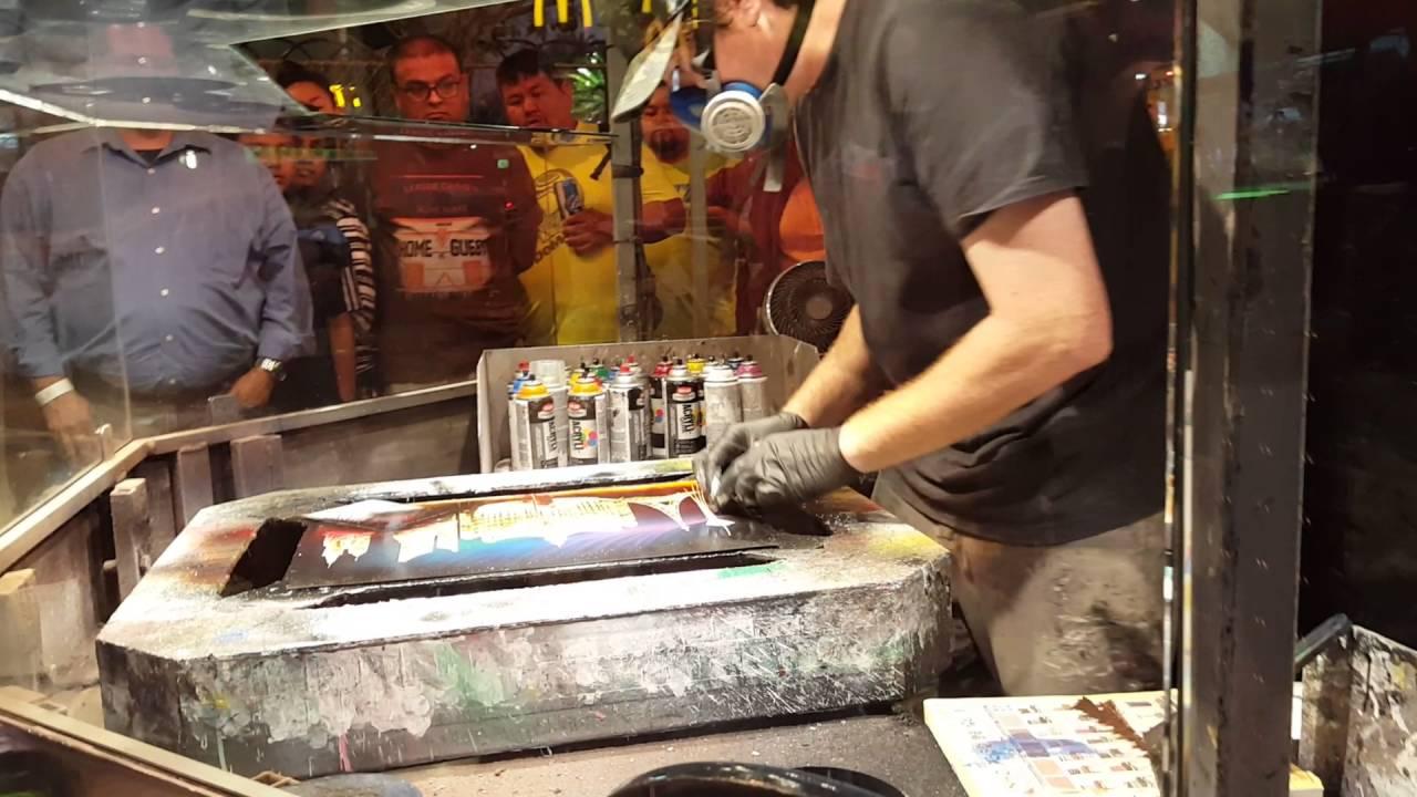 2016 05 26 Las Vegas Spray Painting Art Youtube