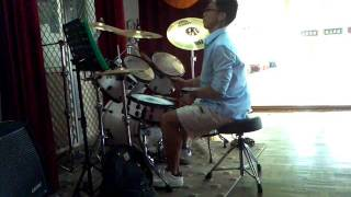 The Ballad of Michael Valentine - drum cover