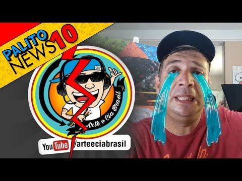 Canal Arte e Cia Brasil vai ACABAR ? (Maior Canal de Desenho do Brasil) Pádua Bastos - PalitoMania