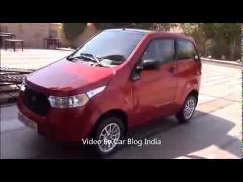 Find Reva E2O Electric Car at Carzonrent - Review, Exteriors, Interiors and Features