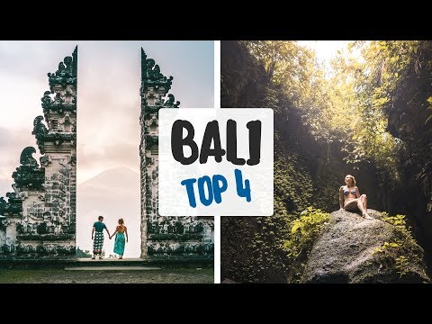 Top 4 Spots You HAVE TO SEE IN BALI! - Bali Instagram Photo Guide