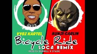 Vybz Kartel & Bunji Garlin - Bicycle Ride Soca Remix - January 2016